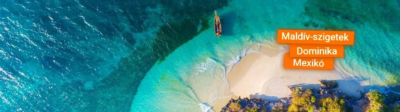 Őszi nyaralás távoli egzotikus tengerpartokon