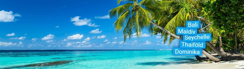 A világ legszebb egzotikus szigetei egész évben várják!