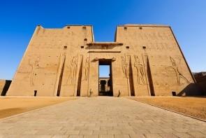 Horův chrám v Edfu