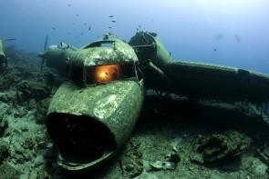 Vrak letadla C-47 Dakota