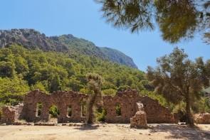 Antické mesto Olympos