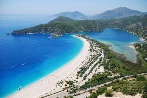 Pláž Olu Deniz a Modrá Laguna