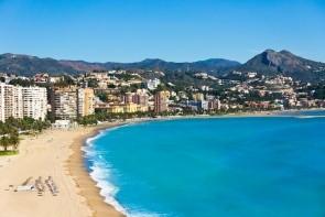 Pláž La Malagueta