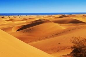 Piesačnaté duny v Maspalomas