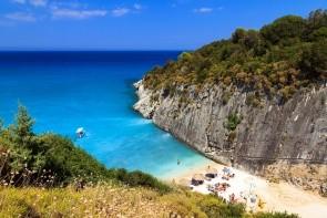 Pláž a záliv Xigia