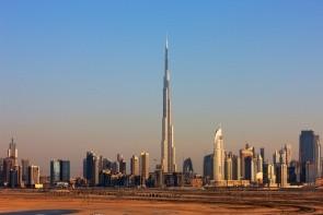 Nejvyšší budova Burj Khalifa