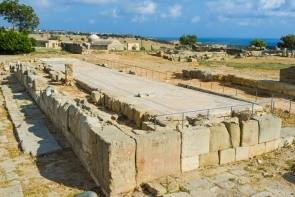 Afroditin chrám a muzeum Palaipafos