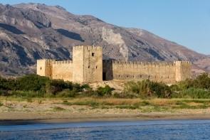 Pevnost Frangokastello