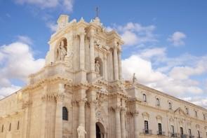 Katedrála ve měste Syrakusy