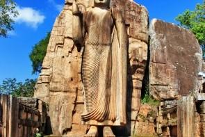 Aukana - socha Buddhy