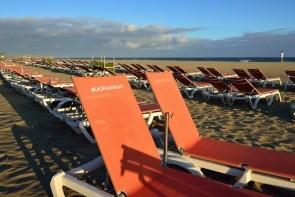 Pláž Maspalomas