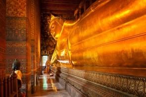 Chrám ležiaceho Budhu ( Wat Pho )