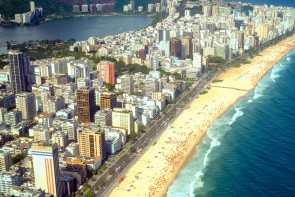 Štvrť a plaža Ipanema
