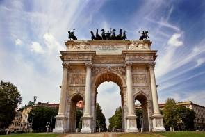 Brána Porta Sempione (Arco della Pace)