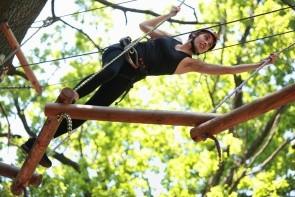 Adrenalinový park Bosc Aventura