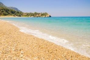 Pláž Megalo Seitani