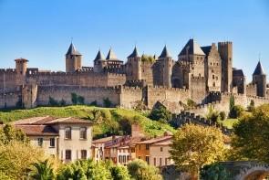 Hrad Carcassonne