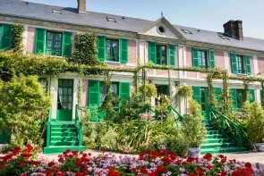 Dom a záhrady Clauda Moneta