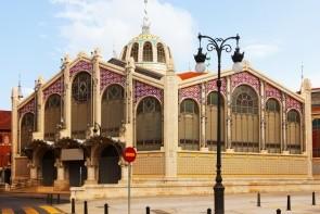 Centrálne trhovisko Mercado Valencia