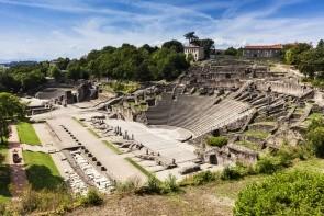 Zříceniny římského divdla Fourviere