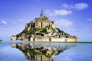 Kláštor Mont St Michel