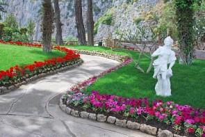 Augustove záhrady - Via Krupp