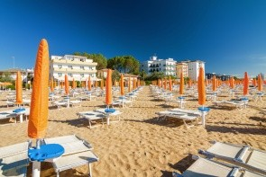 Pláž Lido di Jesolo