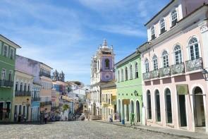 Salvador de Bahia - historické centrum (Pelourinho)