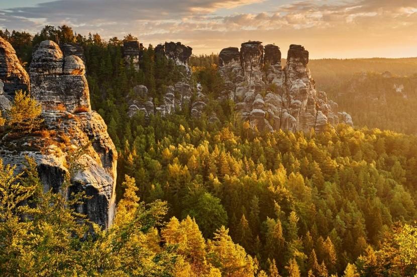 NP Saské Švajčiarsko, Nemecko
