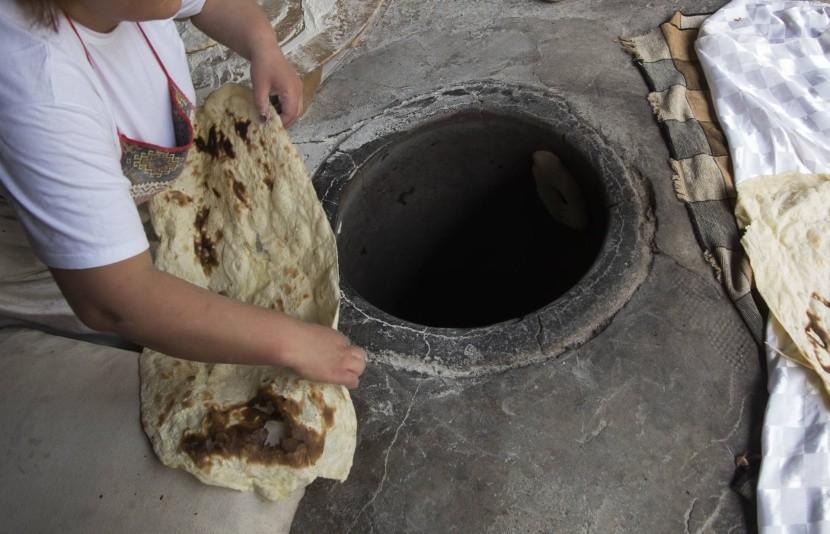 Tradičná príprava lavaša