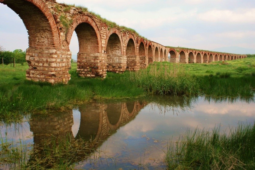 Rímsky akvadukt neďaleko Skopje
