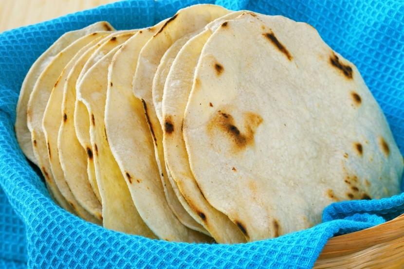 Kukoricás tortillák