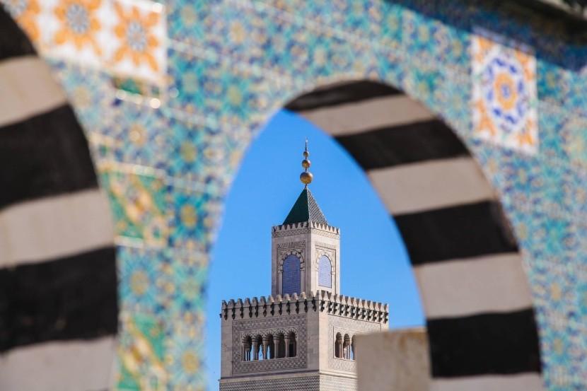 Medina v meste Tunis