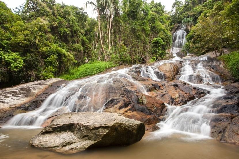 Namuang vízesés, Koh Samui