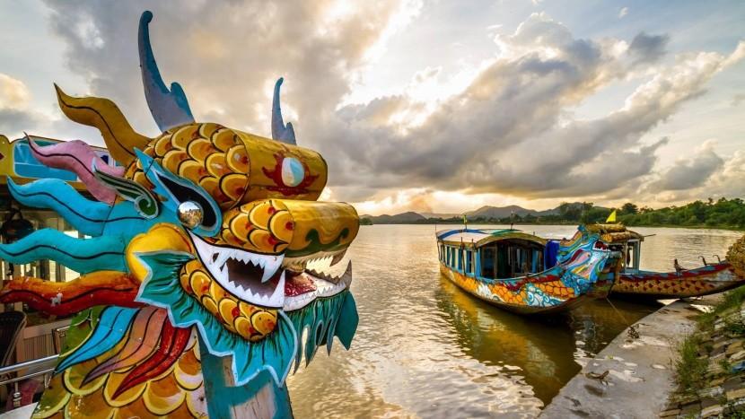 Sárkányhajó, Hue
