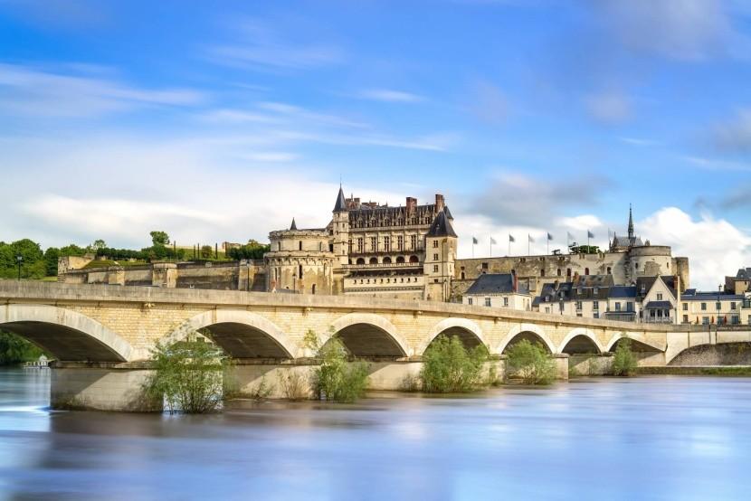 Loira a zámek Amboise