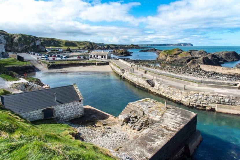 Ballintoy Harbour Észak–Írország