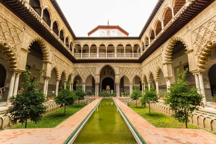 Alcázar királyi palota Sevilla