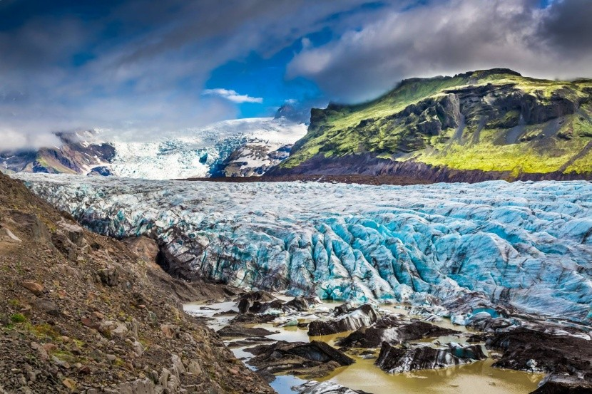 Vatnajökull Izland jégmező