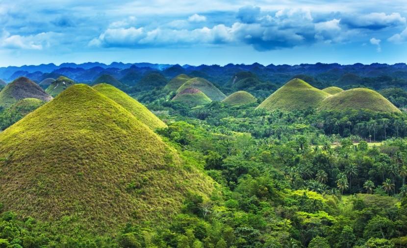 Chocolate Hills, Filipíny