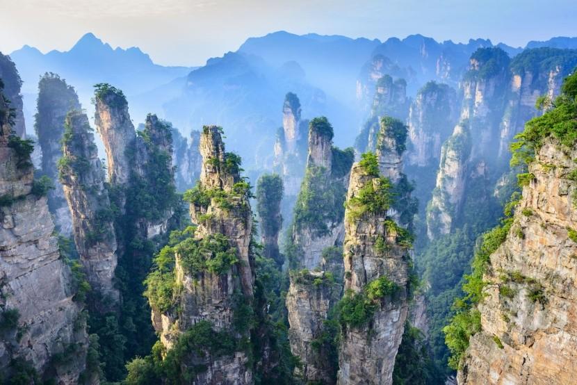 Národní park Zhangjiajie, Čína
