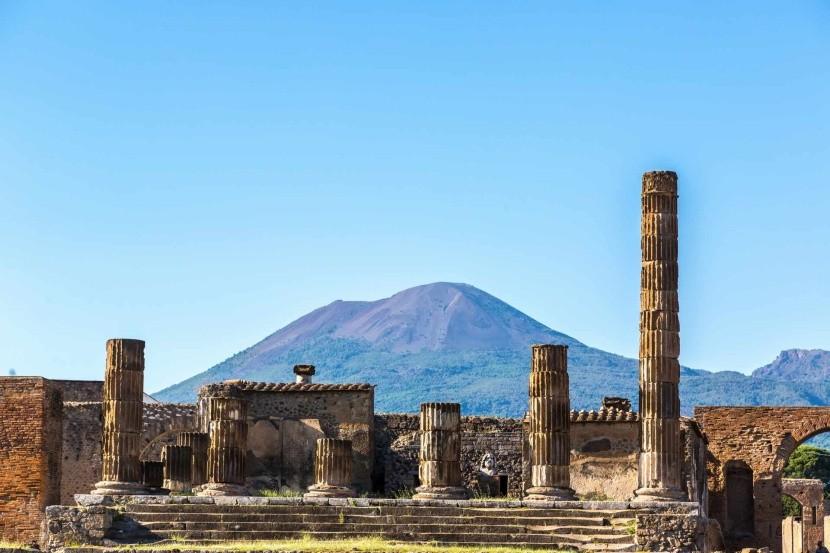 Pompeii, Olaszország Vezúv vulkán