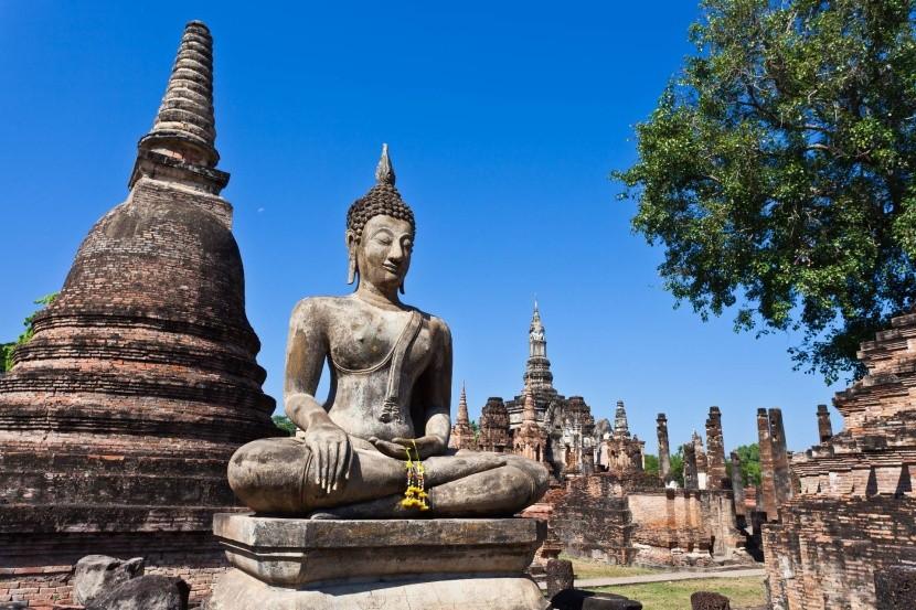 Sukhothai Thaiföld elveszett város