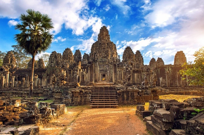 Angkor Kambodzsa ókori templom zarándokhely