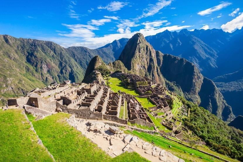 Machu Pichu Peru elveszett város