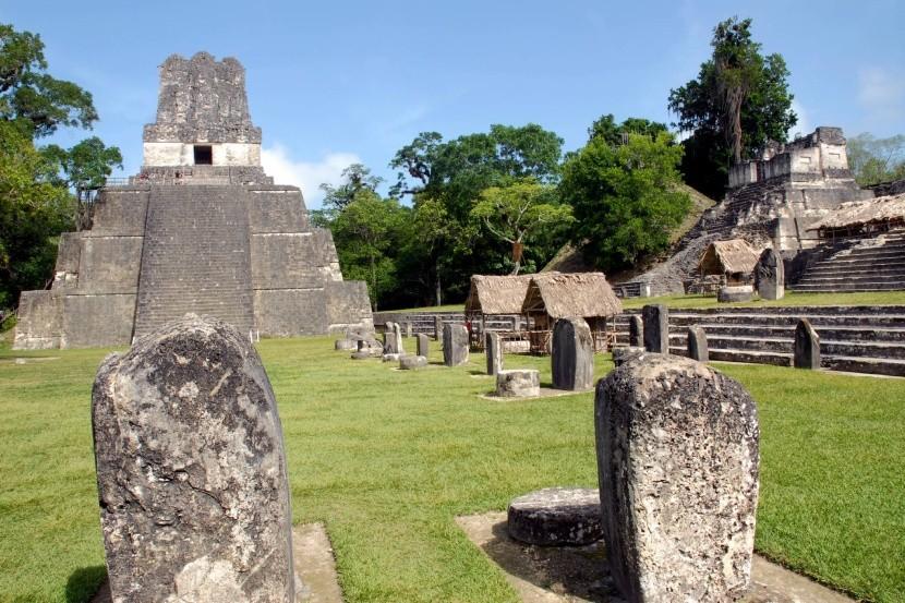 Tikal Guatemala Nemzeti Park maja civilizáció