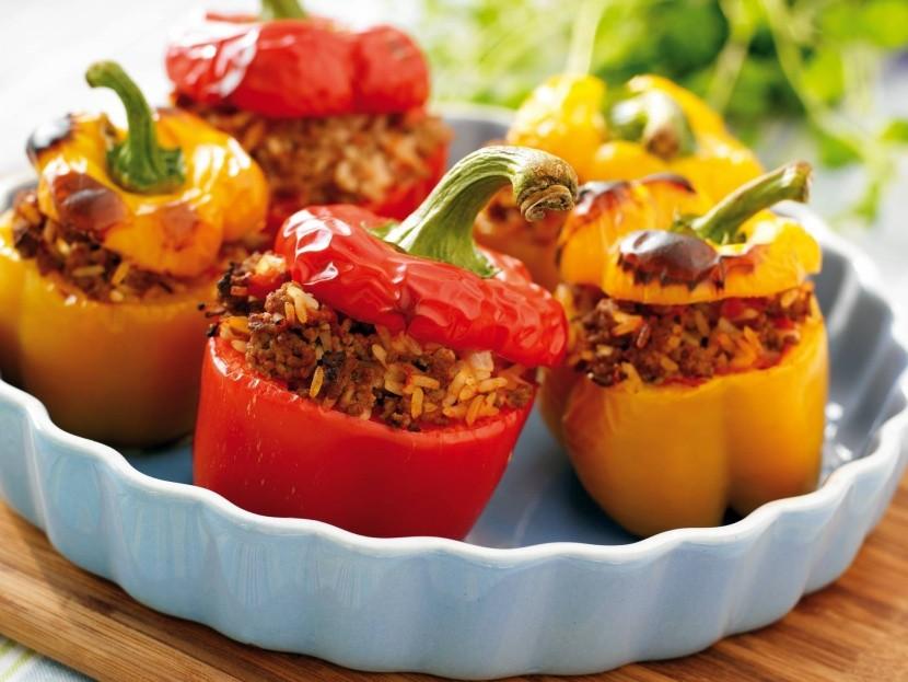 Bulharské plněné papriky