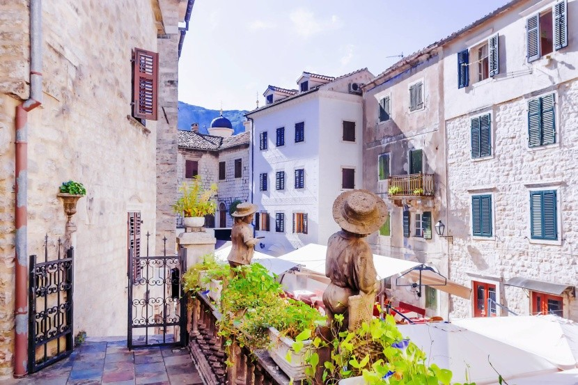 Uličky starobylého Kotoru
