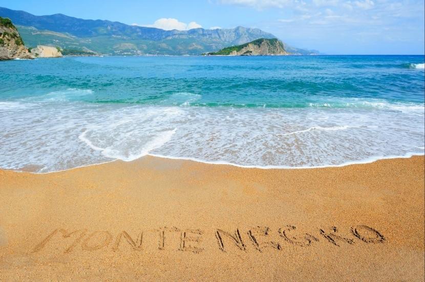 tengerpart tenger Montenegró homokos part