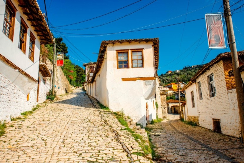 Berat - město zapsané na seznamu UNESCO